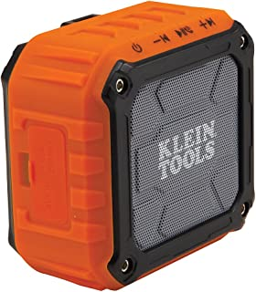 Klein Tools AEPJS1 Wireless Speaker, Durable Portable Speaker Plays Audio and Answers Calls Hands Free
