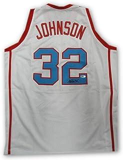 Autographed Magic Johnson Jersey - Vikings LA Beckett COA - Beckett  Authentication - Autographed NBA Jerseys a8b245c2f