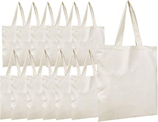 Simpli-Magic 79162 Premium Canvas Tote Bags, 15