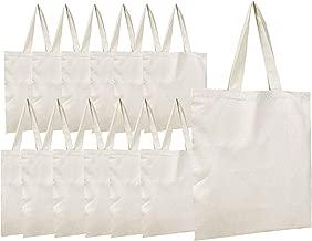 Simpli-Magic 79162 Premium Canvas Tote Bags, 15