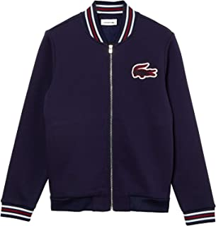 Lacoste Striped Detail Bomber Jacket