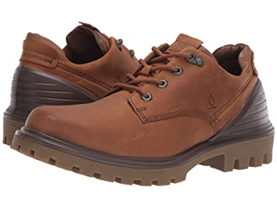 ECCO Tred Tray Waterproof Low Hydromax (Amber/Cocoa Brown) Men