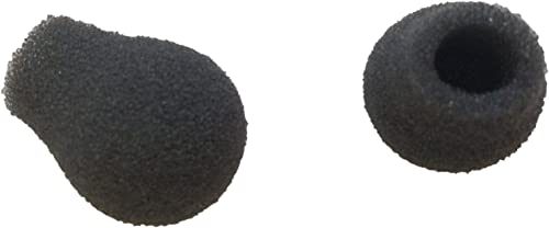 wholesale Gray Foam MIC WINDSCREENS for wholesale Telephone HEADSETS online sale - Quantity of 6 online sale
