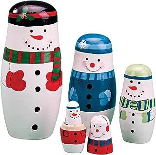 Snowman Nesting Dolls