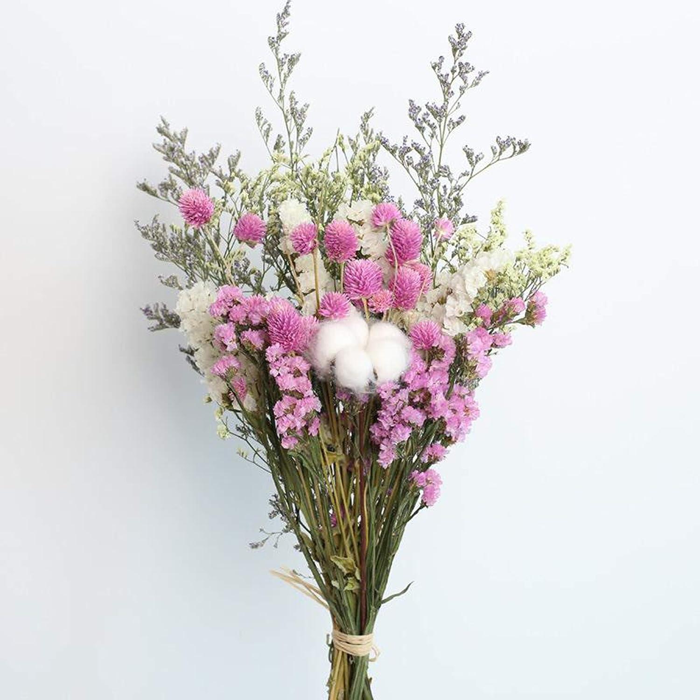 Margaritas Flores Hechas a Mano para DIY Baoblaze Flores secas Ramo de Flores Rosas de algod/ón Rojo Plantas secas florero casero Flores Ornamentales Boda