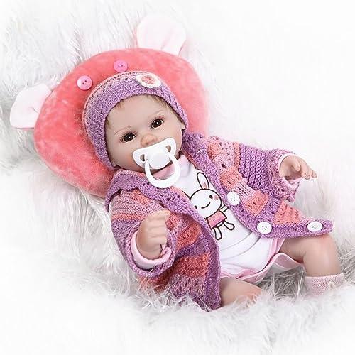 primera reputación de los clientes primero Global Brands Online npk 16pulgadas 42cm ReBorn Baby Soft Silicona Silicona Silicona muñecas hechas A MANO con La realidad muñecas juguete casa de Juegos  promociones de equipo
