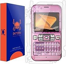 Skinomi Matte Full Body Protector Compatible with Sanyo Juno (Screen Protector + Back Skin Cover) Full Coverage Matte Skin Anti-Glare HD Film