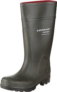 Dunlop Purofort Professional Dark Green/Black, Without Steel Toe