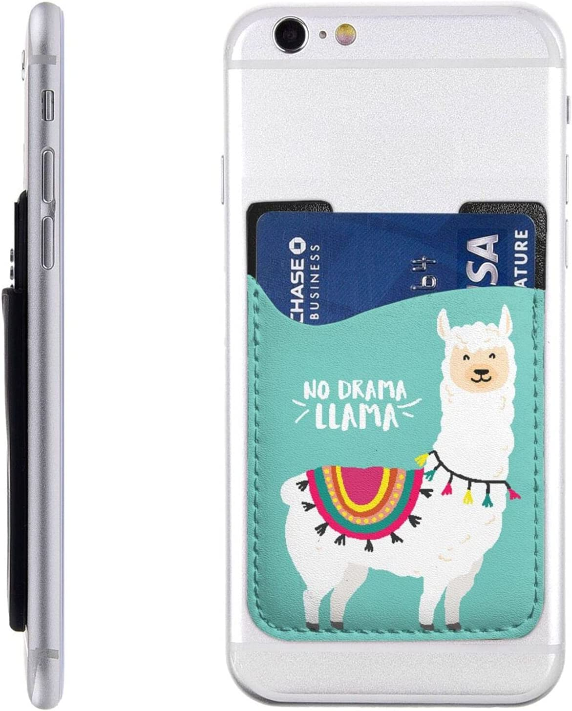 Lovely Alpacas Phone Card shop Holder Cell Stick Sale price On Wallet