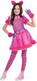 Cheshire Cat Halloween Costume for Girls with Included Accessories