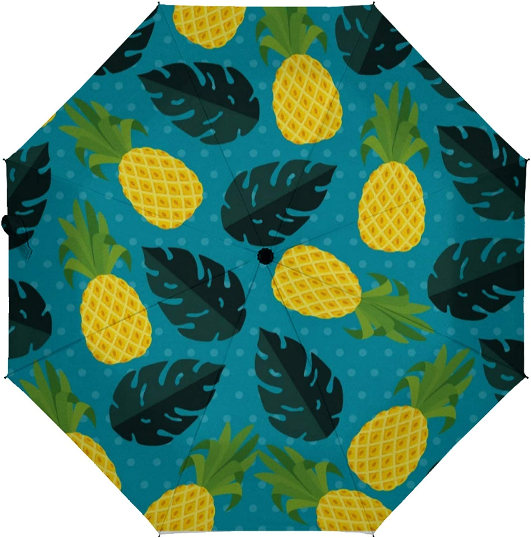 Automatic Folding Umbrella 2021 Thr 4 years warranty fruit Tropical