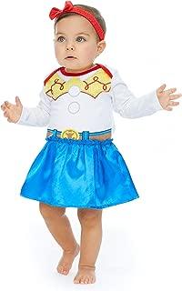 Girls Costume Dress with Headband: Incredibles, Minnie, Jessie & Vampirina