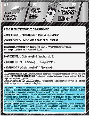 Life Pro Glutamine Ajinomoto 250g | Suplemento con Glutamina, Ayuda Recuperación Muscular, Previene Lesiones, Retrasa Cansancio, Aumenta Fuerza ...