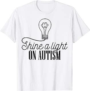 Shine A Light On Autism T-Shirt Autism T-shirt
