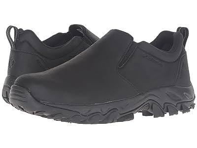 Columbia Newton Ridge Plus Moc Waterproof (Black/Charcoal) Men