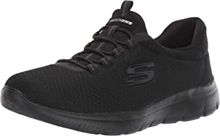 Skechers Womens Summits Memory Foam Comfortable Slip On Shoes - Size: 10 US or 27 cm - Color: Black
