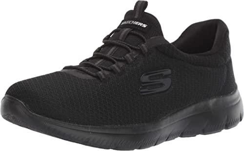Skechers Wohombres, Summits Slip on Turnzapatos Wide Width negro 8 W