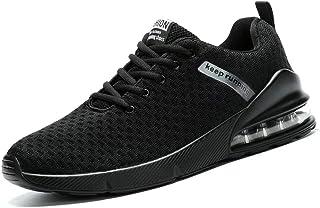 Chopben Air Cushion Sneakers Mens Running Shoes Non Slip Trail Sports Shoes Tennis Casual Walking Athletic Basketball