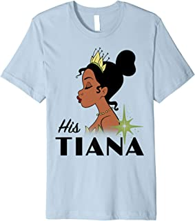Princess And The Frog His Tiana Premium T-Shirt