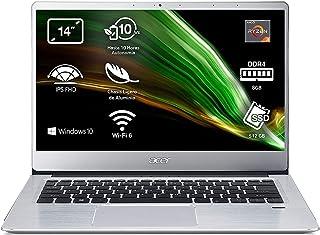 "Acer Swift 3 SF314-41 - Ordenador Portátil 14"" Full HD IPS, Laptop (AMD Ryzen 5 3500U, 8GB RAM, 512GB SSD, UMA Graphics, W..."