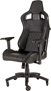 Corsair T1 RACE (2018) Gaming Chair, High Back Desk and Office Chair - Black