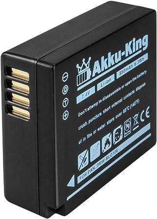 Akku King Akku Kompatibel Mit Panasonic Dmw Blg10 Kamera