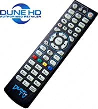 Dune+TV (Fits Dune HD) Remote Control with Learning TV Control Buttons