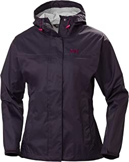 Helly Hansen Loke Lightweight Hooded Waterproof Windproof Breathable Rain Coat Jacket