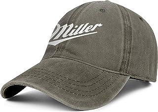 Baseball Caps Men Women Miller-Lite-Beer-Logo Cap Classic Cowboy Hats Athletic Caps Denim Hats & Caps