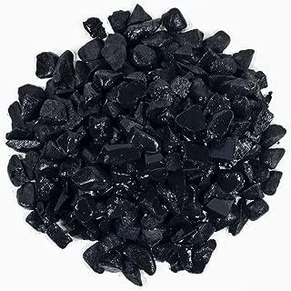 Hypnotic Gems Materials: 1 lb Bulk Rough Shungite Stones from Russia - 1/4