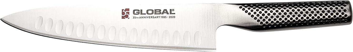 """Global Anniversary 7.5:"""" Chef Kitchen Knife, Silver"""