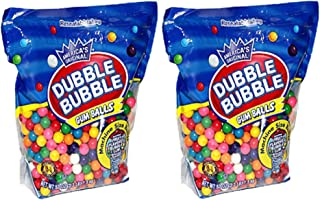 Dubble Bubble Machine Size Gum Ball Refills