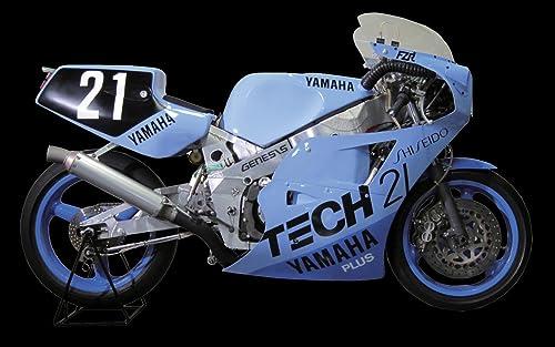1 12 Yamaha FZR750 '85 Tech 21, Shiseido Racing