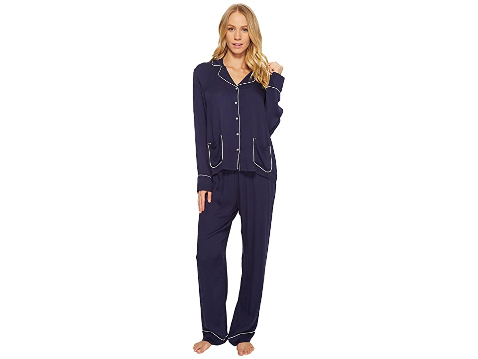 Splendid Woven PJ Set (Midnight Navy) Women
