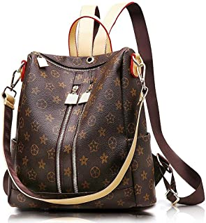 9e79ffb0ee Olyphy Fashion Leather Backpack Purse for Women