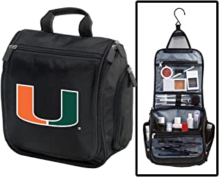 University of Miami Toiletry Bags Or Hanging Miami Canes Shaving Kits