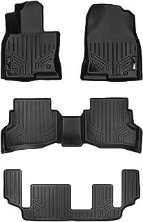 MAXLINER Floor Mats 3 Row Liner Set Black for 2016-2018 Mazda CX-9
