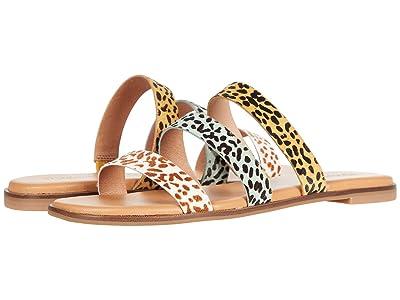 Madewell Ilana Slide Sandal in Calf Hair