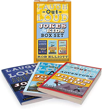 Laugh-Out-Loud Jokes for Kids 3-Book Box Set: Awesome Jokes for Kids, A+ Jokes for Kids, and Adventure Jokes for Kids