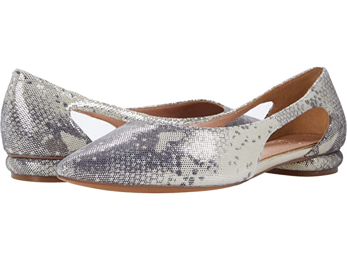 Retro Vintage Flats and Low Heel Shoes LINEA Paolo Delphi 2 CementPlatino Womens Shoes $129.95 AT vintagedancer.com