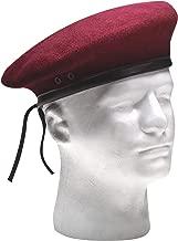 inspection ready maroon beret