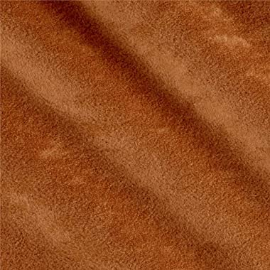 Plastex Soft Suede Topaz Fabric, Topaz, Fabric by the yard