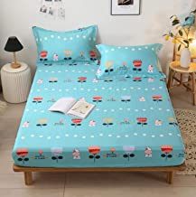 Mattress Cover Bed Pure Cotton Bed Sheet one-Piece Cotton Twill Simmons Bedspread Mattress Cover Protection Cover Bedding ...