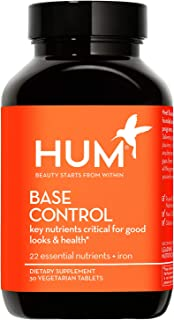 HUM Base Control - Once-Daily Multivitamin & Mineral with B Complex - Non-GMO, Soy-Free & Gluten-Free (30 Tablets)