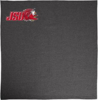 Promoversity NCAA Jacksonville State Gamecocks 成人运动衫毛毯,127cm x 152.4cm,炭黑色