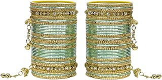 MUCH-MORE 86 Bangles Set of Multi Colour Amazing Collection of Latkhan Bangles Set