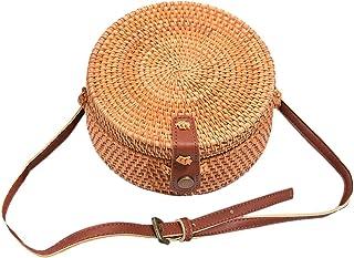 design de qualité 6b807 1fca7 Amazon.fr : panier rotin - Sacs bandoulière / Femme ...