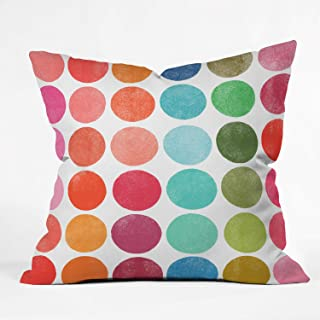 "Deny Designs Garima Dhawan Colorplay 5 Indoor Throw Pillow, 16"" x 16"""