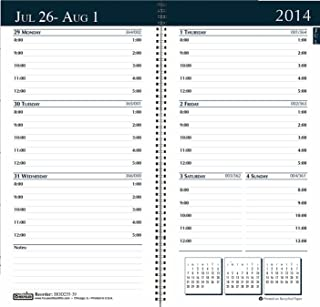 House of Doolittle Academic Weekly/Monthly Pocket Planner, 12 Months July 2014 to June 2015, 3.25 x 6.25 Inches, Monthly Indicators, Bright Green Recycled (HOD25509)