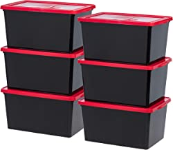 red box containers